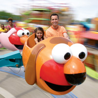 Go for a spin at Sesame Place.